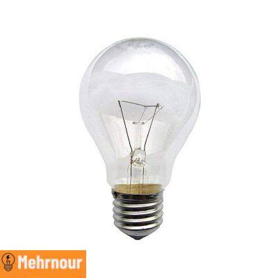 مشخصات، قیمت و خرید لامپ رشته ای 60 وات | فروشگاه اینترنتی لوازم الکتریکی مهرنور در کرج